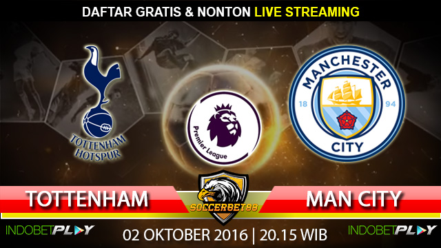 Prediksi Tottenham vs Manchester City 02 Oktober 2016 (Liga Inggris)