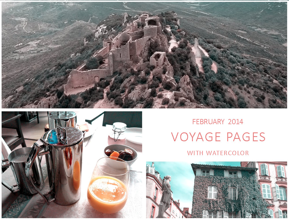 France, Some pages of my voyage
