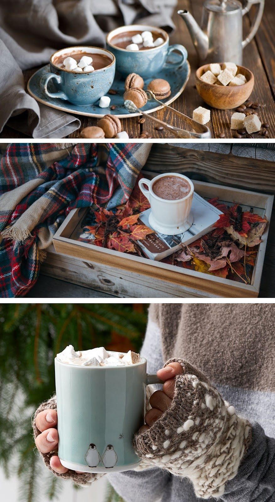 Hygge chocolate quente