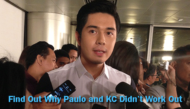 Find Out Why Paulo and KC Didn't Work Out