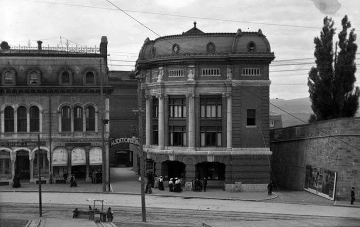L Auditorium En 1904 Banq Fonds Fred C Würtele