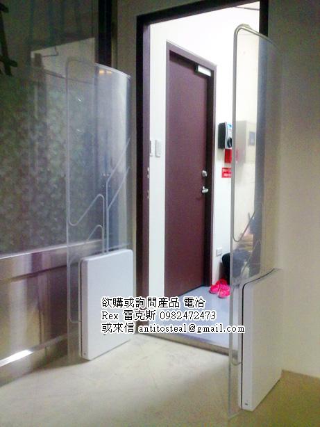 圖書安全,RFID圖書安全,系統防盜偵測門-RFID Sensor Gate HF 13.56Mhz頻段
