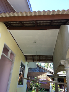 Rumah Idaman : Siling Porch Tangga Siap..