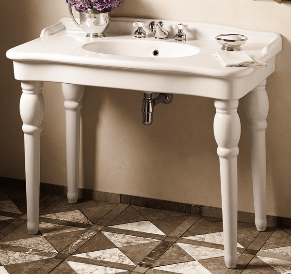 Bathroom Vanity Pedestal: Our French Inspired Home: Bathroom Sinks: Which Is Your