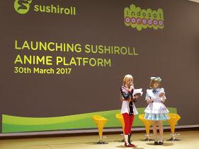 Kolaborasi Indosat Dan Sushiroll Aplikasi Khusus Pecinta Anime