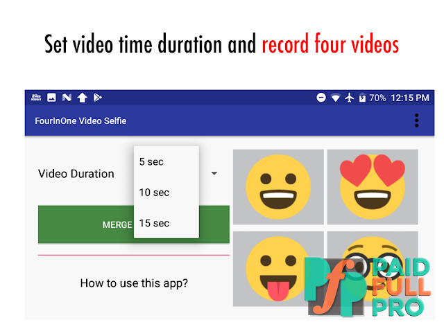 FourInOne Video Selfie latest apk