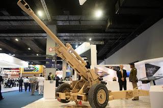 LG1 Mk III Light Guns 105 mm Buatan Nexter
