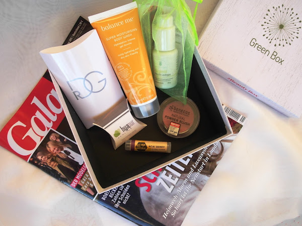 "Gala Beauty Box Oktober 2015 - ""Green Box"""