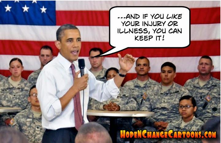 obama, obama jokes, political, humor, cartoon, stilton jarlsberg, hope n' change, hope and change, VA, medical, scandal, obamacare, golf