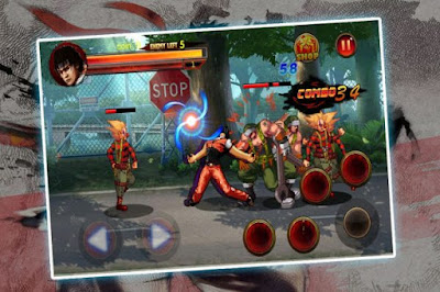 Kungfu Fighter in the Street Mod+Apk v1.0.4 (Mod Money)