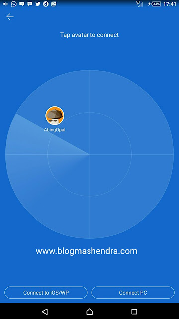 Berbagi File Gratis Dengan Aplikasi SHAREit - Blog Mas Hendra