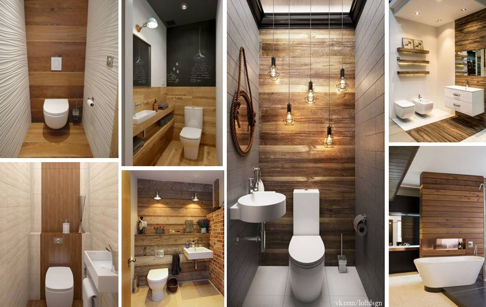 15 DIY Remodeling Small Bathroom Walls With Wooden Pallet
