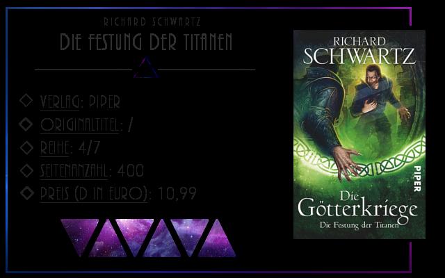 [Rezension] Die Götterkriege: Die Festung der Titanen - Richard Schwartz