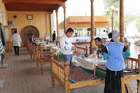 Uzbekistan, Kokand, Karvan Chaïkhana, topchan, © L. Gigout, 2012