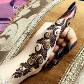 only finger mehndi