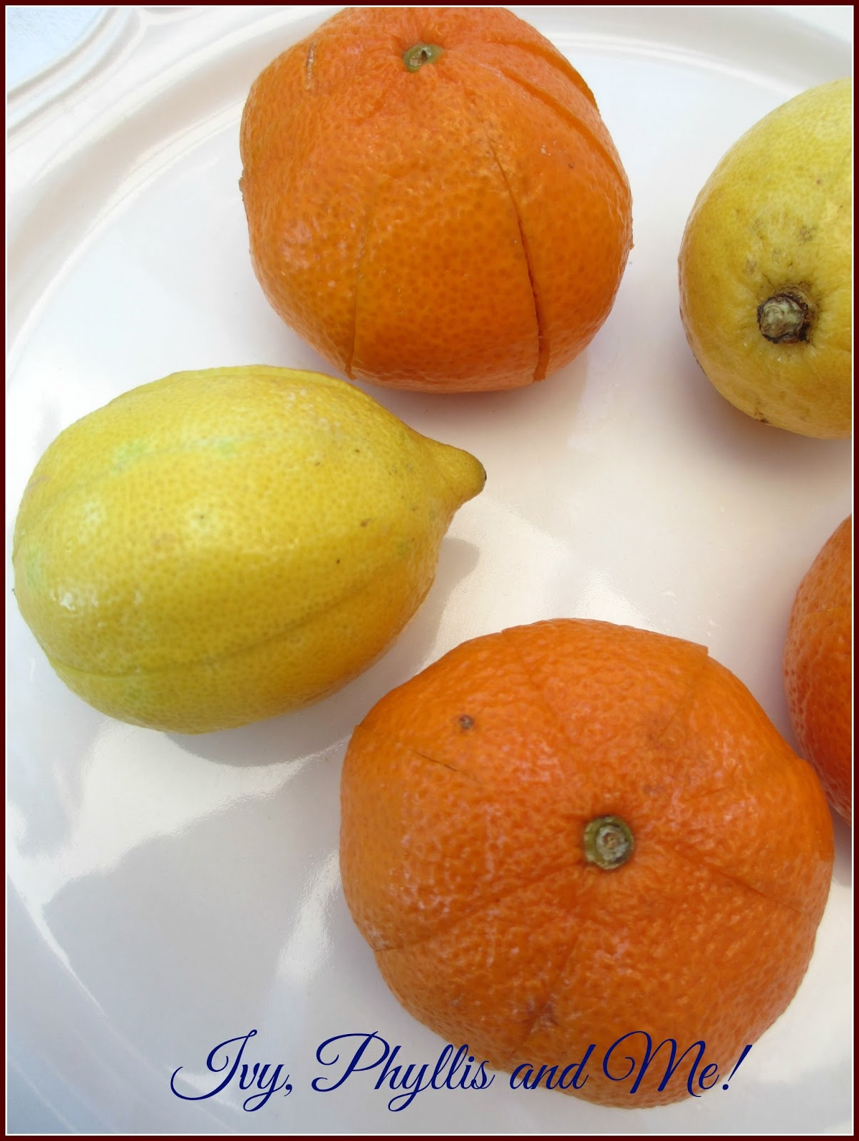 how to make dried oranges christmas decorations