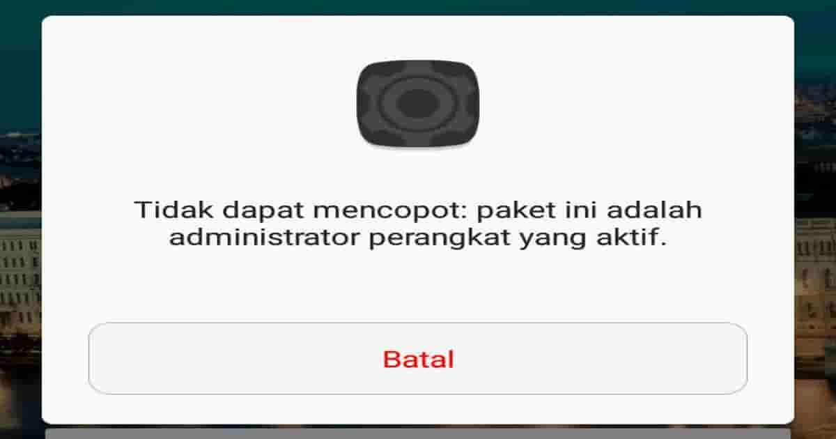 diblokir oleh admin it anda android