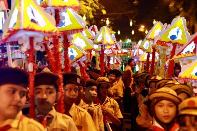 Berita Banyuwangi Hari Ini 15 Agustus 2017 (Ribuan Lampion Dan Kehormatan Karya Satya kepada 721 PNS)