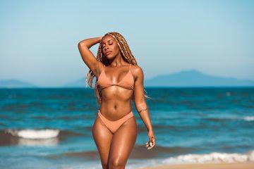 Jackie Aina bikini bod photos