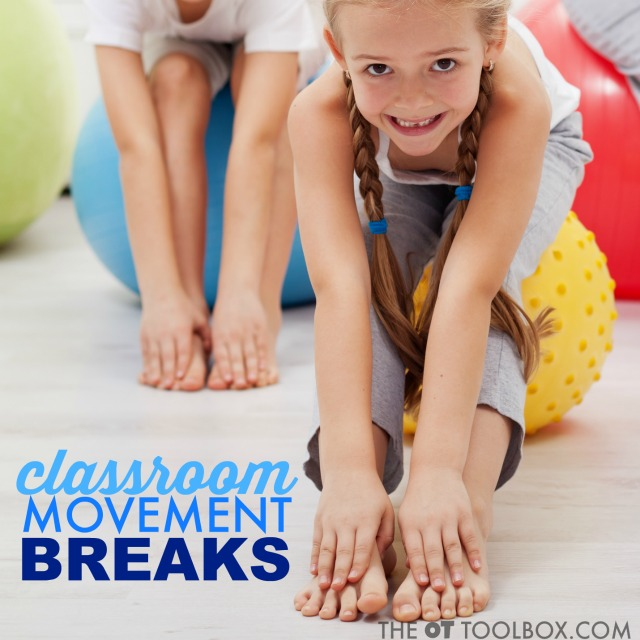 Use these classroom movement ideas to help with behaviors, learning, and to promote academic skills like math and reading.