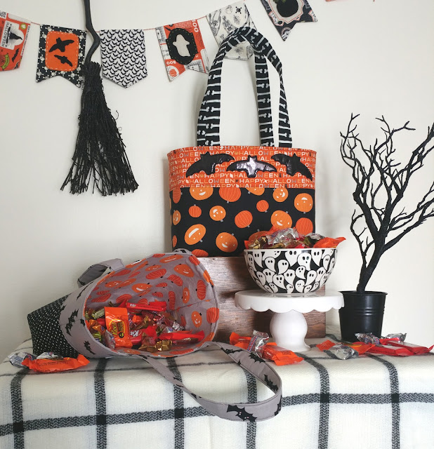 free sewing pattern for trick or treat tote