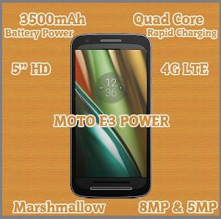 Smartphone Moto E3 Power, Kecanggihan Dalam Genggaman