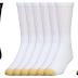 Gold Toe Men's Crew Length Cotton Athletic Socks - Product Description Sample