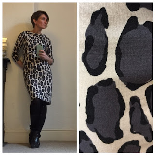 Boden Leopard print dress