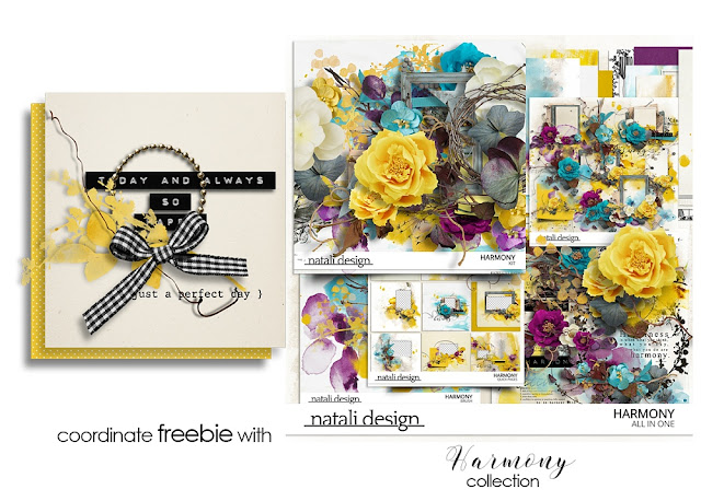 New collection Harmony and freebie