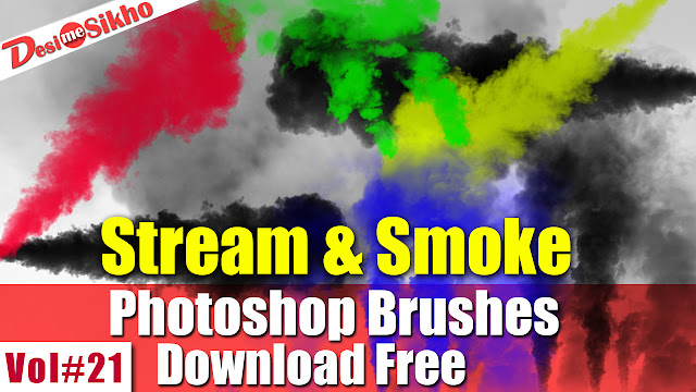 Stream And Smoke Brushes Effect For Photoshop Download Free Vol#21