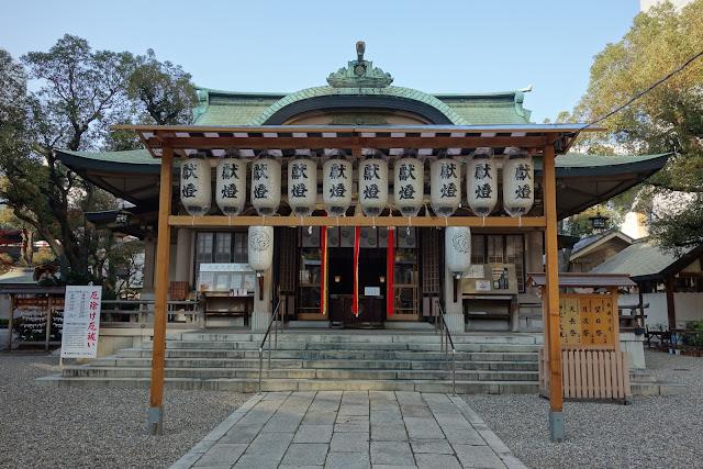 坐摩神社 拝殿