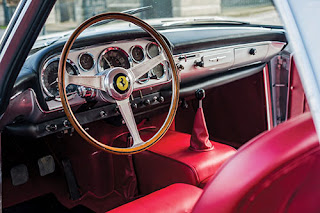 1960 Ferrari 250 GT Coupe Car Interior