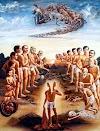 దేవుడికి చనిపోయిన మనిషికి మధ్య సంభాషణ