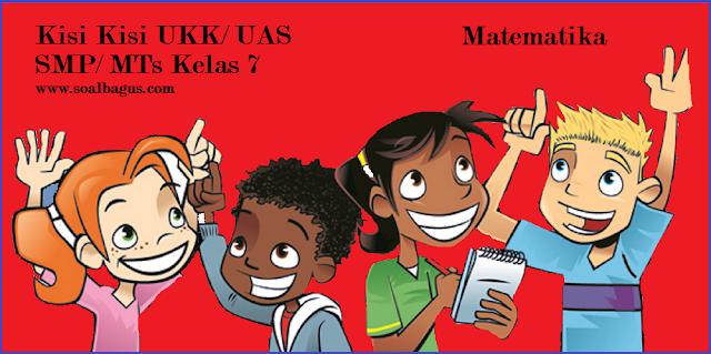 Download dan dapatkan kisi kisi ukk/ uas matematika smp kelas 7 semester 2/ genap kurikulum ktsp