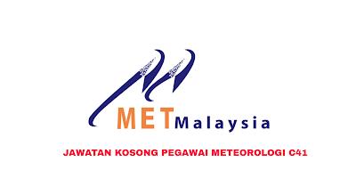 Permohonan Jawatan Kosong Pegawai Meteorologi C41 2019