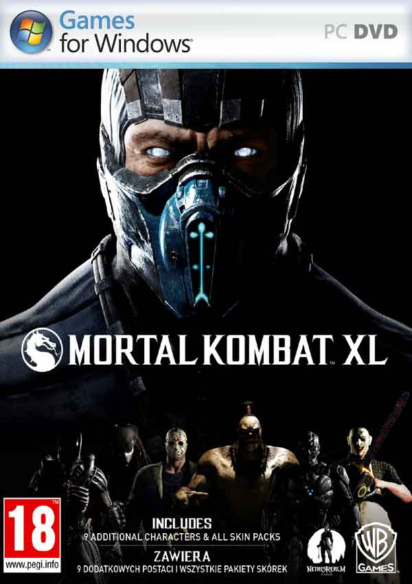 Mortal Kombat XL Download Cover Free Game