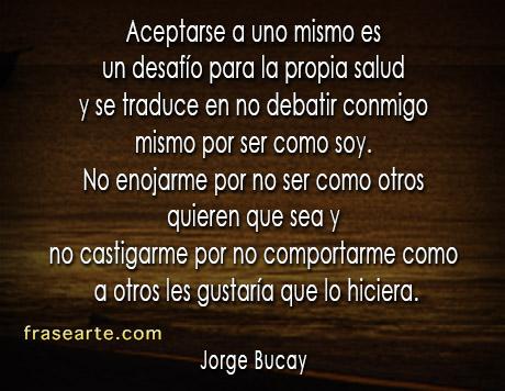 Jorge Bucay – Aceptarse a uno mismo