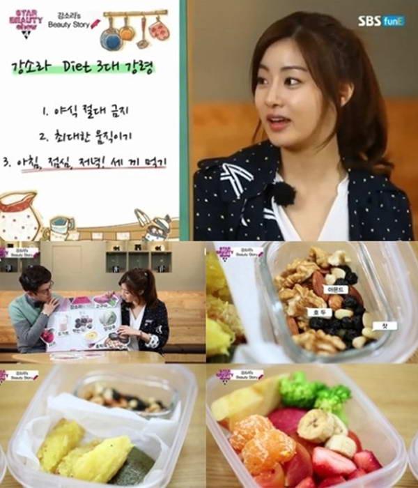 Bí quyết giảm 20 kg của Kang So Ra