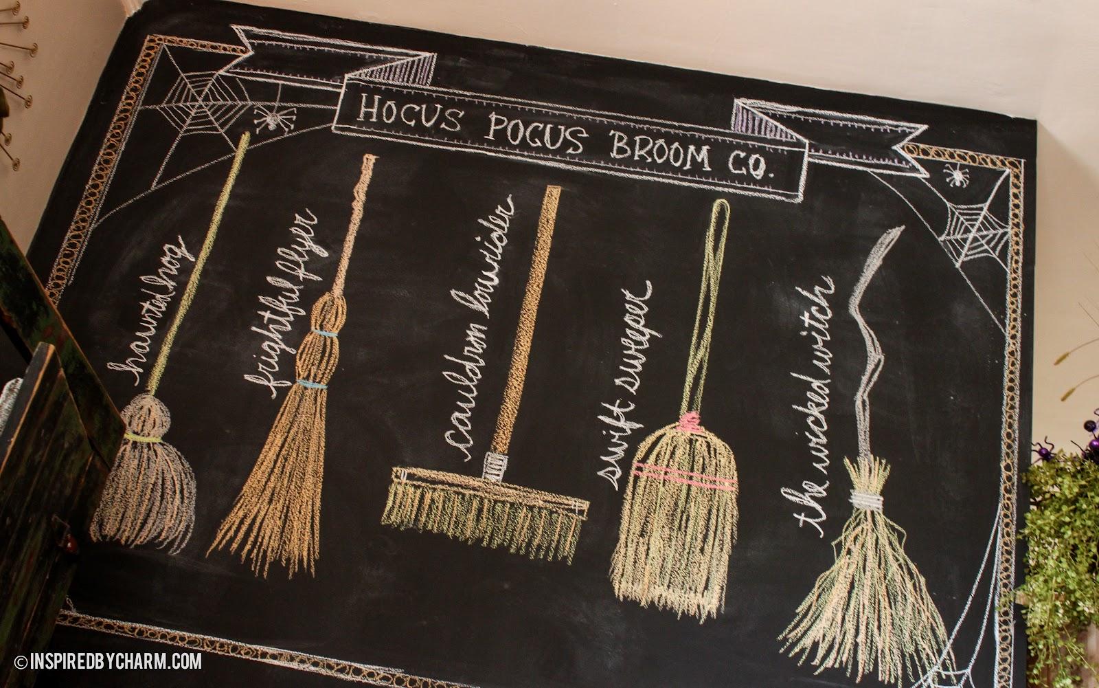 Harry Potter Wall Mural Hocus Pocus Broom Co