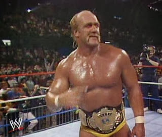 WWF / WWE: Wrestlemania 5 - Hulk Hogan regained the WWF title from Macho Man Randy Savage