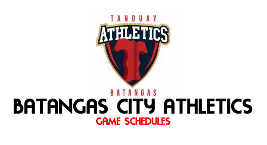 LIST: Game Schedule Batangas City Athletics 2018 MPBL Anta Datu Cup