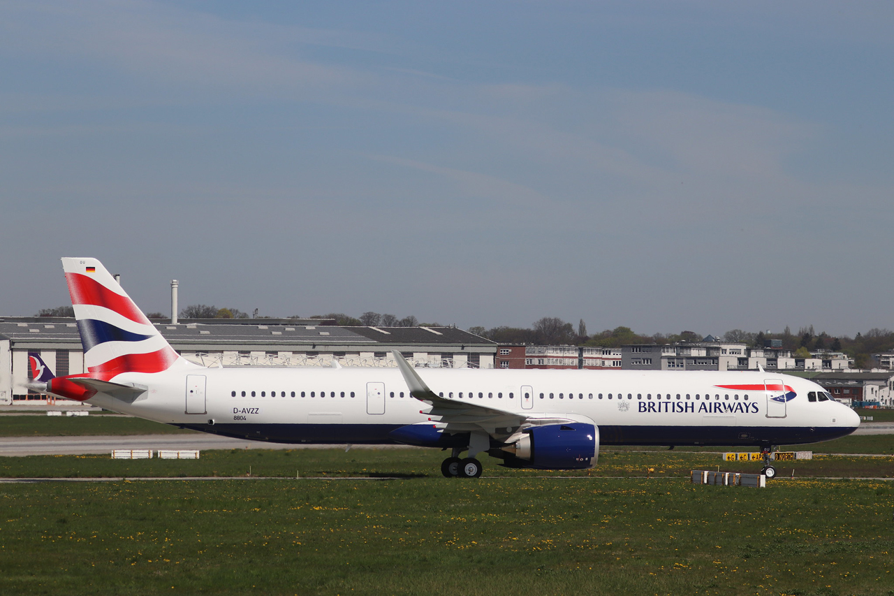 Airbus A321neo of British Airways May 2019 Delivery