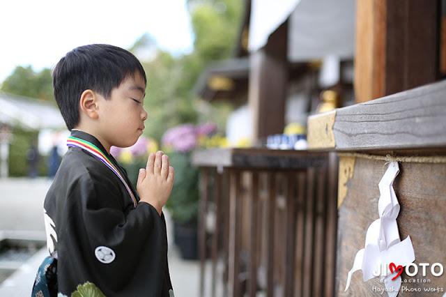 大神神社の七五三出張撮影