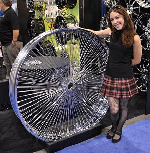 Typically 100 Spoke Or 50 Is Used For Average Size Rims From 13 Up To 24 Inch Either The Wire Must Be Stronger There