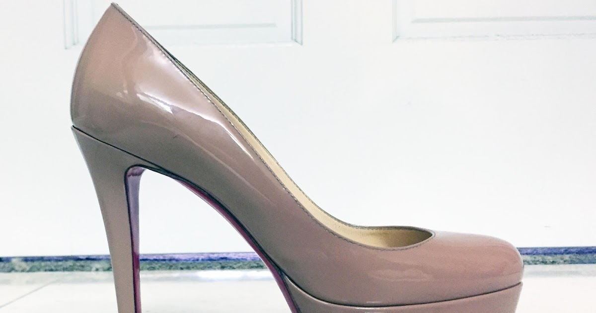 save off eece3 2ba2b My Superficial Endeavors: Christian Louboutin Nude Bianca Pump!