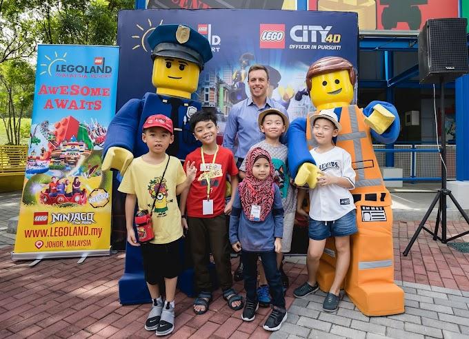 Legoland Malaysia Lancar Tarikan Terbaru: Filem 4D 'Officer In Pursuit'