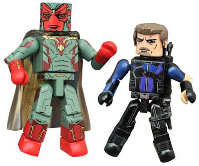 Toys R Us Exclusive Captain America: Civil War Marvel Minimates by Diamond Select Toys – Vision & Hawkeye