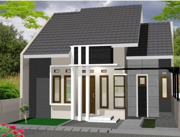 Desain Rumah Kampung Mewah