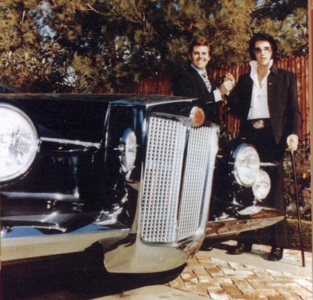 Clasp Garage: Rockstars' Garage: Elvis Presley's Stutz