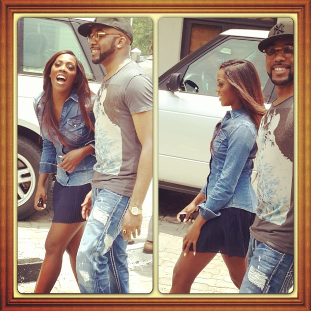 tiwa savage banky w downtown lagos